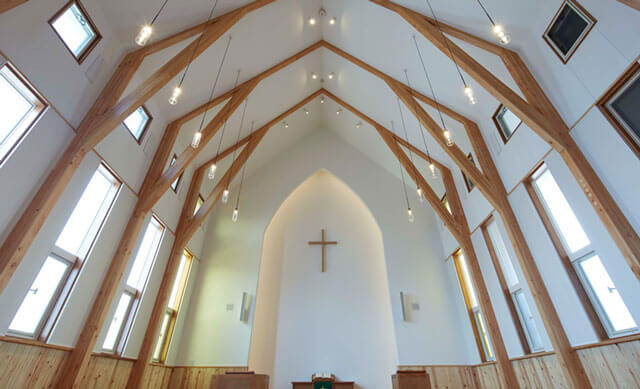 キリスト教で教会がある保育園