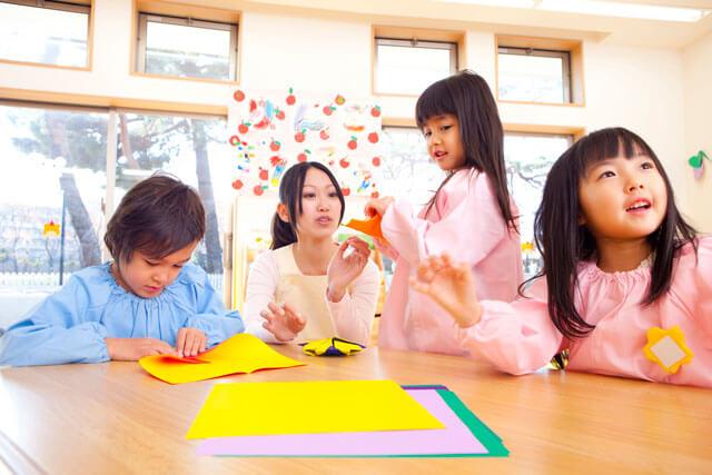 保育士派遣の勤務先:幼稚園