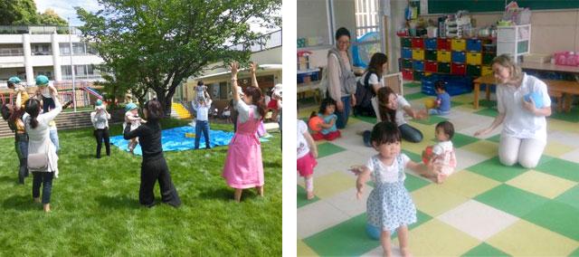 ネイティブイングリッシュレッスンや芝生の園庭が特徴の社会福祉法人大五京
