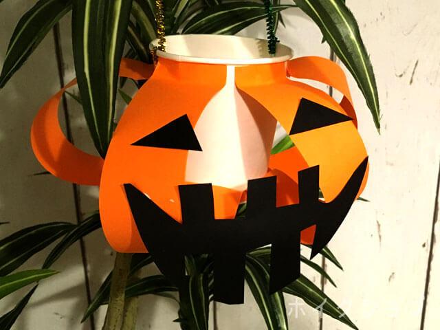 ハロウィンのかぼちゃバッグの製作工程
